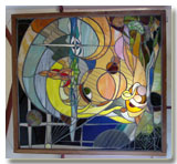 Etched Glass, Stained glass,